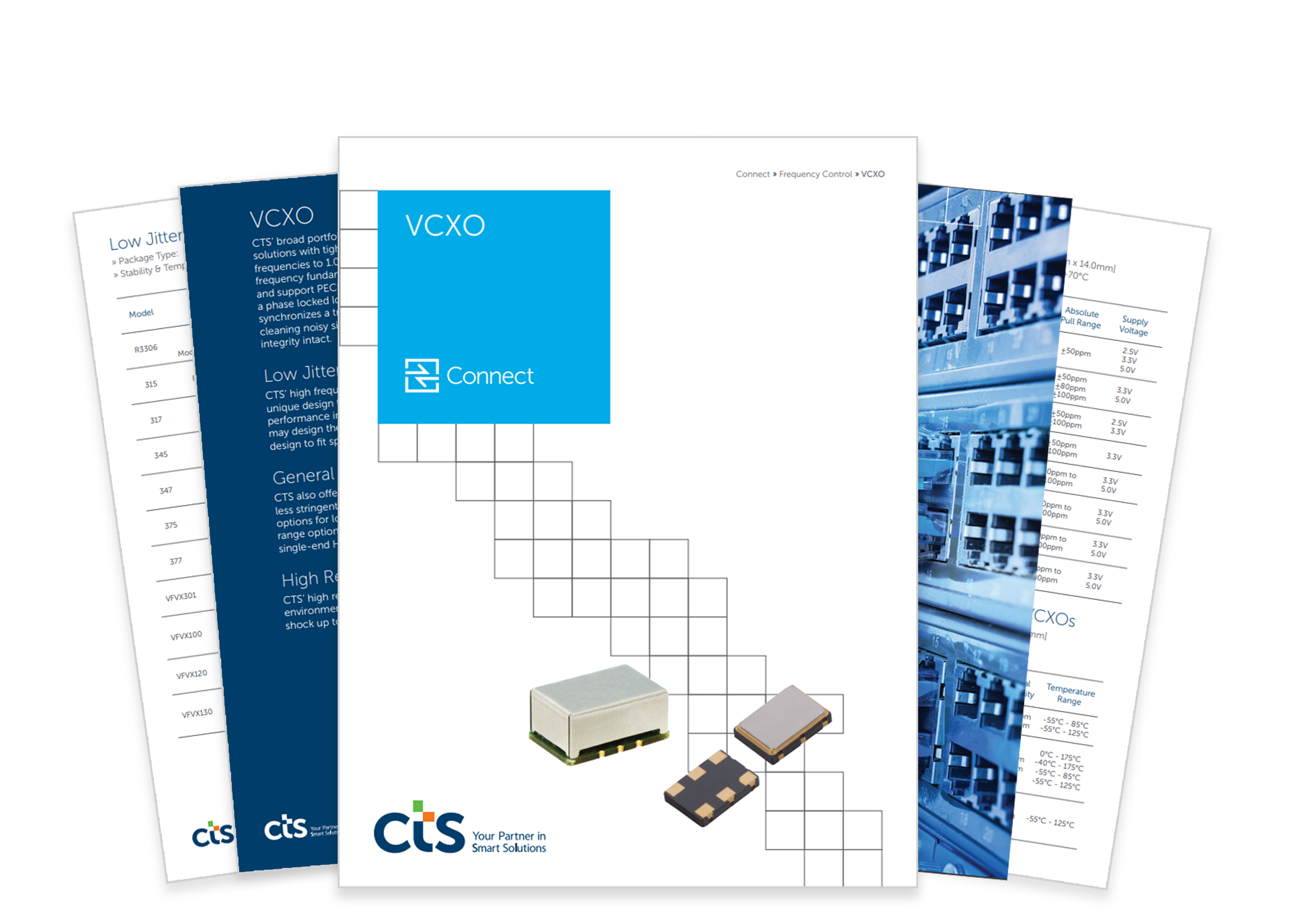 Frequency Control Cts Corporation Extended Temperature Oscillators Product Literature