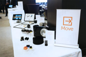 Product Displays for Sense, Connect, Move